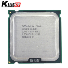 Четырехъядерный процессор Intel Xeon E5440 2,83 ГГц 12 МБ работает на материнской плате LGA775