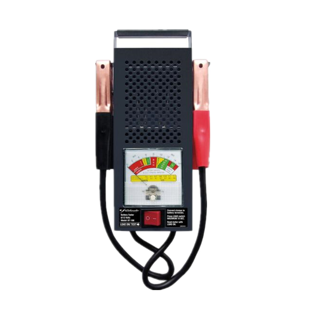 6V/12V Car Pointer Battery Load Tester 100 amp Battery Analyzer With Heavy Duty Insulated Copper Clips for Automotive Repair new 12v battery load display testing system tester alternator tool with clips
