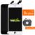 3 pcs para iphone 6 s plus screen display lcd de toque substituição digitador assembléia completa (câmera + anel de orelha malha + sensor anel)