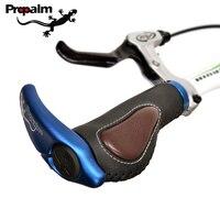 Propalm 1 Paar Abschließbare Radfahren Griff Grip Für Fahrrad MTB Rennrad Lenker Fahrrad Griff Aluminium Legierung + Gummi Weichen griffe