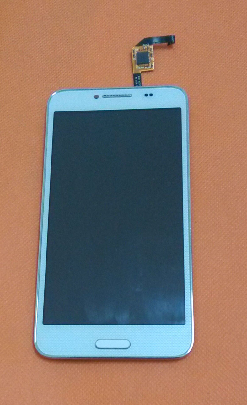 Used Orignal LCD Display Touch Screen Panel Frame For HTM Landvo L800 MTK6582 Quad Core 5