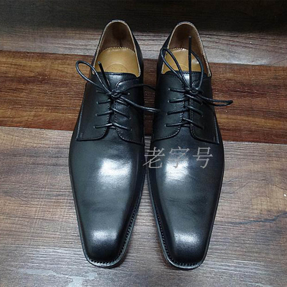 Sipriks Mens Square Toe Calf Leather Dress Shoes Elegant Black Goodyear Welted Shoes Italian Handmade Formal Gents Suits Shoes цена 2017