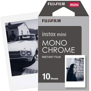 Image 2 - New 10pcs Fujifilm Instax Mini Film Monochrome For Mini 9 8 7s 7 50s 50i 90 25 dw Share SP 1 Polaroid Instant Photo Camera