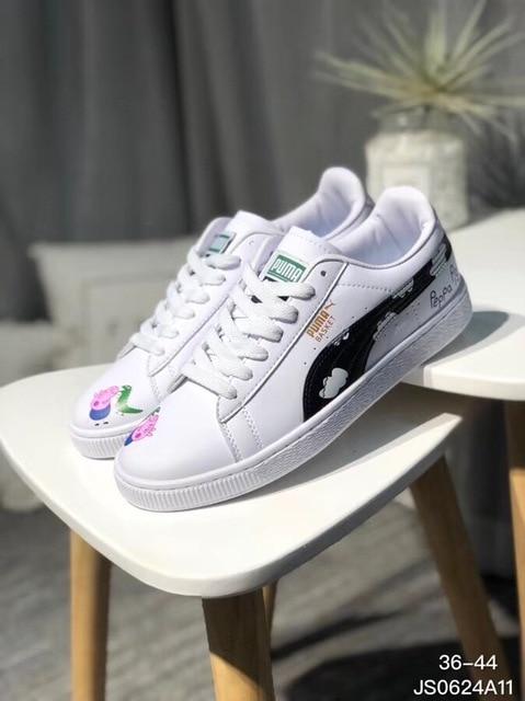 b41d87a0 US $52.67  Aliexpress.com : Buy 2018PUMA MAN Original New Arrival 2018  Suede Classic Unisex Sneakers Badminton Shoes size36 44 from Reliable  Badminton ...