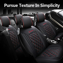 цена на Car-Styling Pu Leather Car Seat Covers for KIA all Models Rio K2/3/4 Cerato Sportage Cars Cushion Auto Accessories