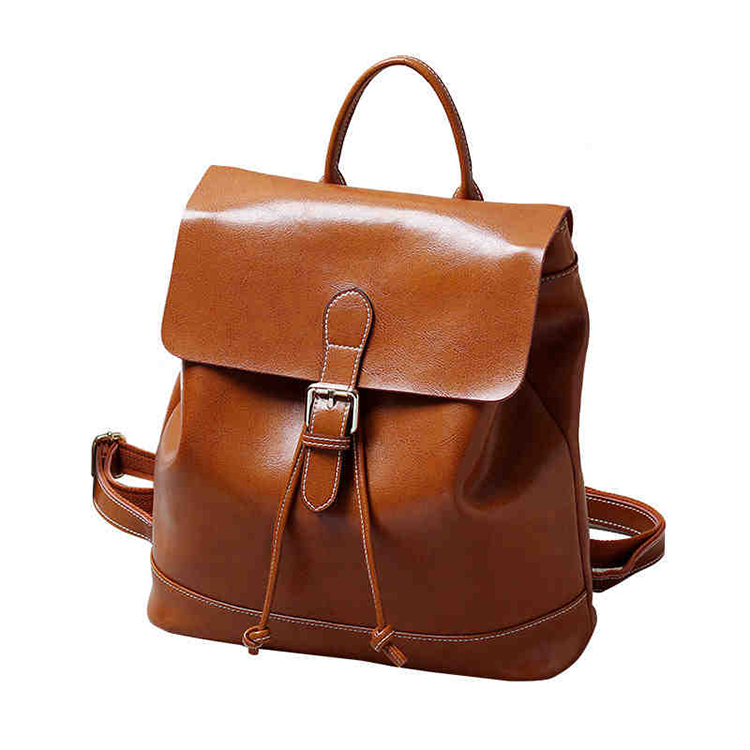 Fashion Genuine Leather Backpacks Women Bags Preppy Style Backpack Girls School Bags Lady Female Real Leather Backpack #H7314 new arrival women genuine leather backpack young lady real leather backpack luxury female school bags with simple design e143