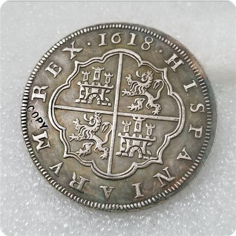1618 копия испанской монеты
