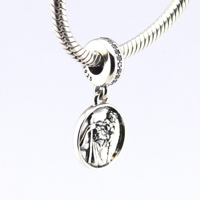 925 стерлингового серебра Хранитель Travel оригинальный очаровательные модные бусы Подходит Пандора браслеты CKK