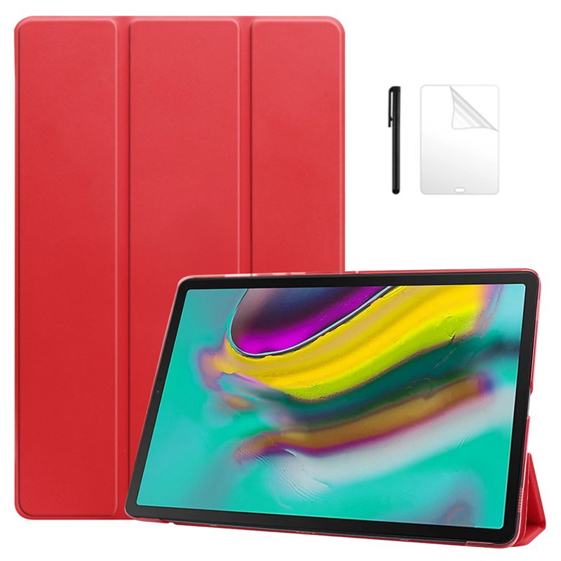 Transparent PU Leather <font><b>Case</b></font> For New released Samsung galaxy Tab S5E s5e 10.5 <font><b>T720</b></font> SM-<font><b>T720</b></font> T725 Tablet <font><b>case</b></font> +film+pen image