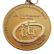 Golden Marathon Medal for the Running at a competitive price