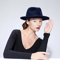 VTG Wool Women S Wide Brim Maison Michel Summer Sun Hat For Laday Chapeu Feminino Jazz