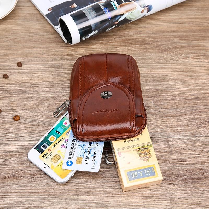 Mode män fickor mobiltelefon bälten bära bälten 5-6 tums - Bälten väskor - Foto 5