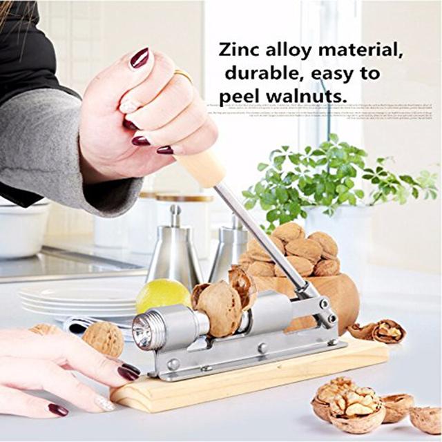 Mechanical sheller for walnut
