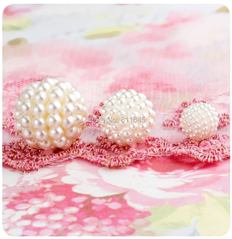 Νέα Γύρος Kawaii Χάντρες ABS Μαργαριτάρι - Κοσμήματα μόδας - Φωτογραφία 2