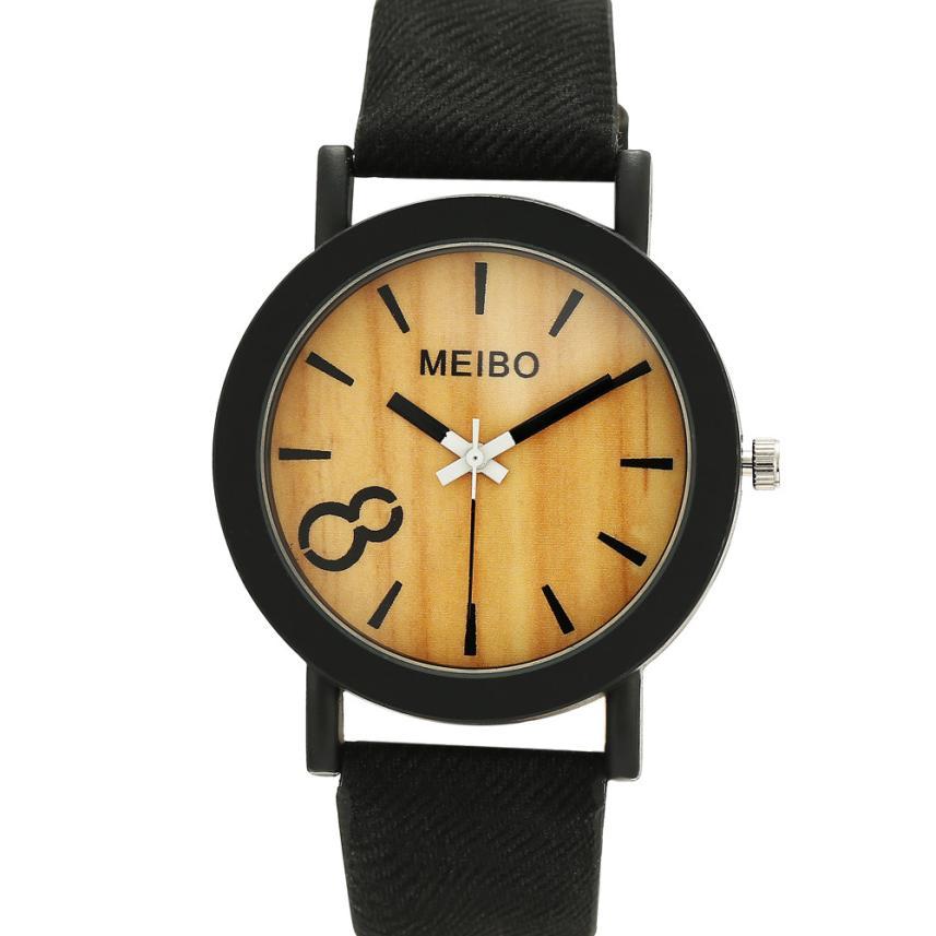 GEMIXI Men's watches Neutral Simple Fashion causal watches quartz wristwatches Leather Quartz Wrist Watch men Sports curren men s fashion simple leather simple quartz sport wrist watch
