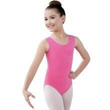 Speerise Child Gymnastics Tank Top Leotards For Girls Soft Lycra Pink Ballet Dancewear Sleeveless Unitard For Toddler Kids Teens