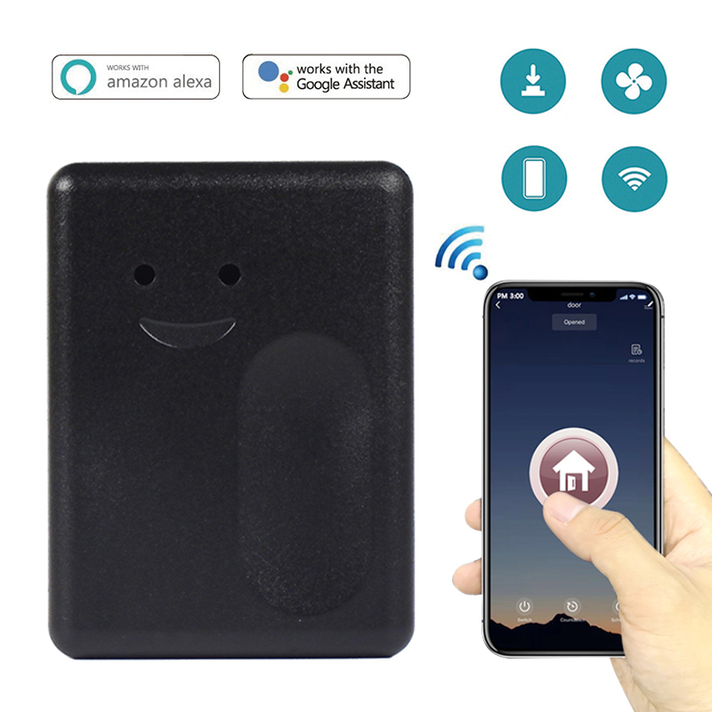Wireless Garage Door Opener Remote WiFi Switch Universal Controlled By Smartphone For Gate Opener Wotk With EWelink Alexa Google