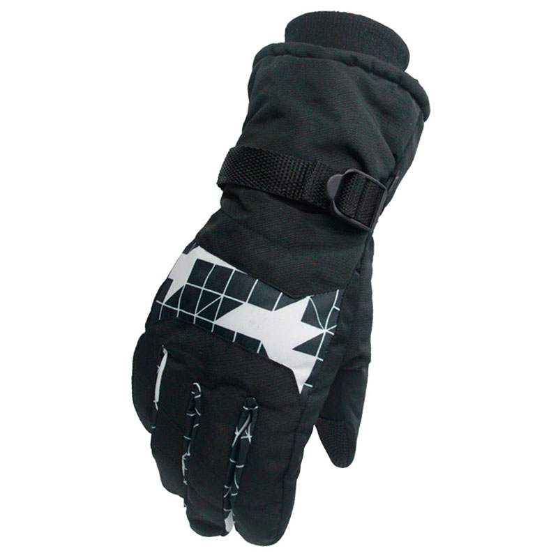Windproof Wear-resistant Riding Ski Gloves Mountain Skiing Snowmobile Waterproof Snow Gloves New Arrival