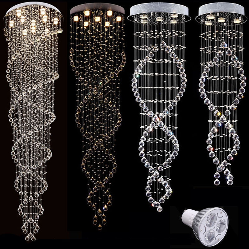 Buy vallkin modern chandelier new hot sale luxury clear crystal lighting - Chandeliers on sale online ...