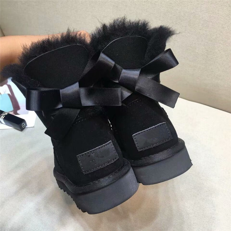 grwg Plus Size Free Shipping Real Sheepskin Women's Winter Classic Woman Snow Boots Genuine Sheepskin Women Boots Women Shoes цена