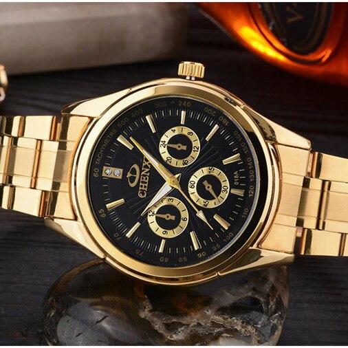 CHENXI Χρυσό ρολόι Ανδρικά ρολόγια - Ανδρικά ρολόγια - Φωτογραφία 5