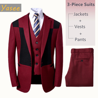 Baby boys suits wedding costume blazer suit wedding Flower Boys Formal Tuxedos School Suit baby boys Single Breasted suits set