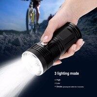 Супер мощный светодиодный фонарик мини Портативный фонарик IPX-7 Водонепроницаемый факел Linterna Прожектор с функцией sos