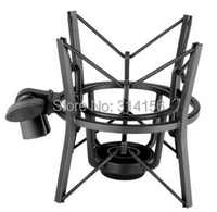 Takstar SH-100 Aluminum Jimmy microphone shock mount capacitor studio microphone shock mount Easy installation