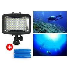 Orsda Led-videoleuchte 40 Mt unterwasserkamera licht wasserdicht bis zu 40 mt LED Fotografie lampe für wasserdichte fall SL-101
