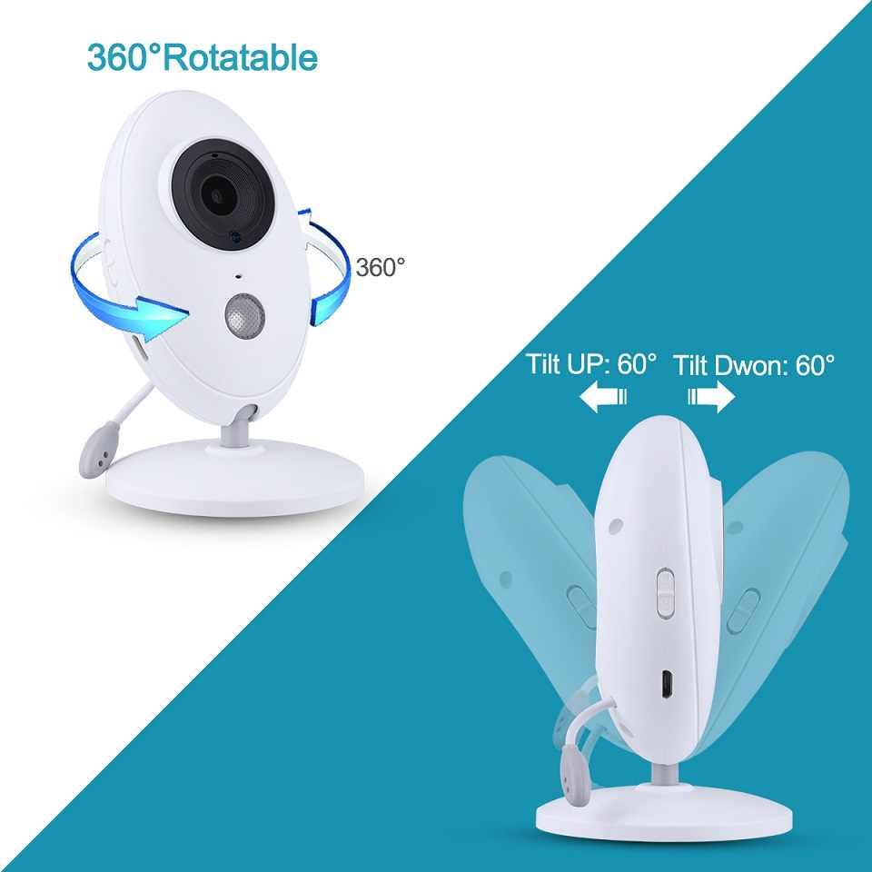 Babykam радио няня монитор младенца для новорожденных 3,5 дюймов lcd ИК ночного видения 2 способа разговора температурный монитор колыбельные Детские камеры