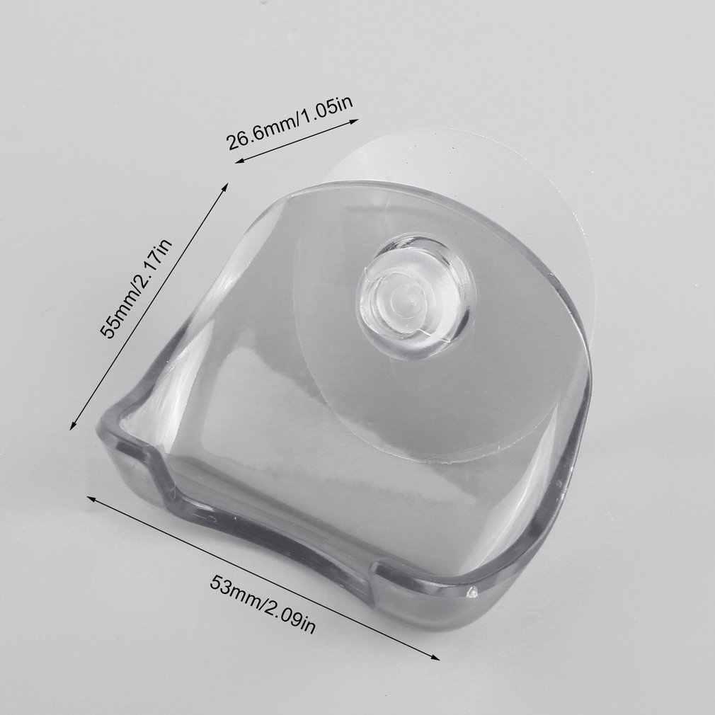Plastikowe akcesoria domowe uchwyt na golarkę ścienną stojak łazienkowy szczoteczka do golenia uchwyt na golarkę