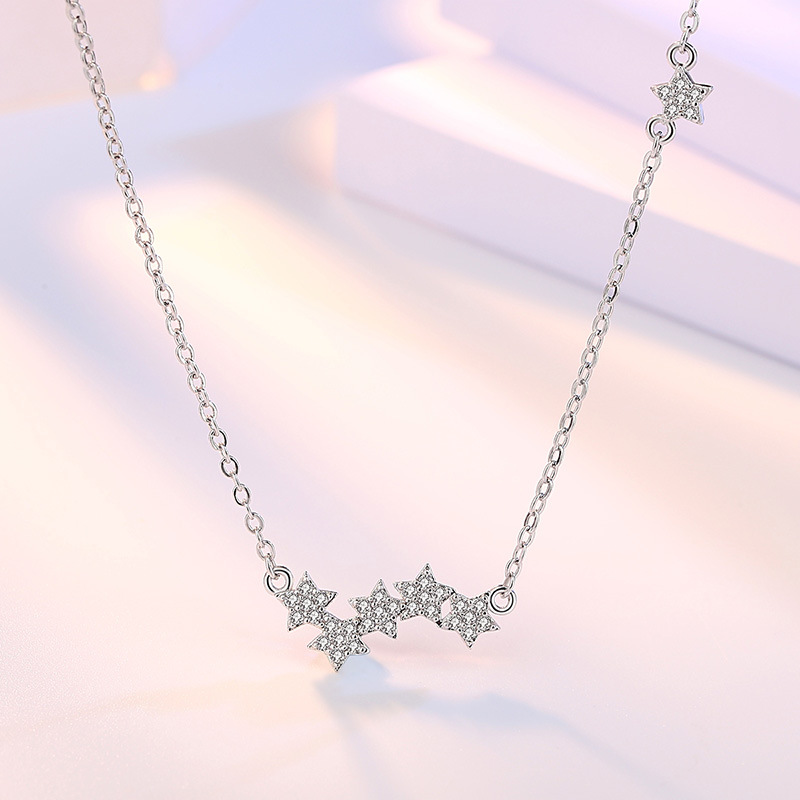 five star choker necklaces (1)