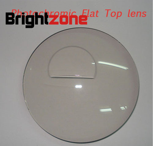 1 56 Bifocal Flat top photochromic transition optical lensSPH 6 00 5 50MaxCLY 4 00ADD 0