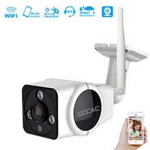 цена на GCCAC WiFi Camera 360 Degree Panoramic HD 1080P Wireless Smart Cam Surveillance Wi Fi Monitor Outdoor Camera 2MP IPCam + TF Card