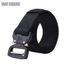 Tactical belt mens outdoor heavy general purpose nylon adjustable military tactical