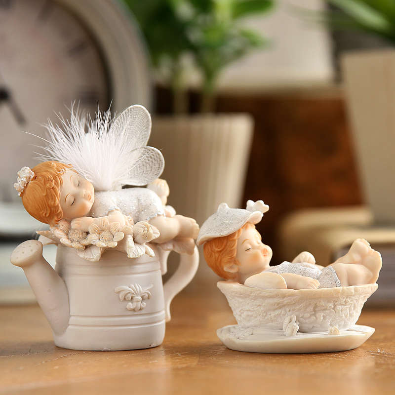 Cute Baby Angel Figurine (1)
