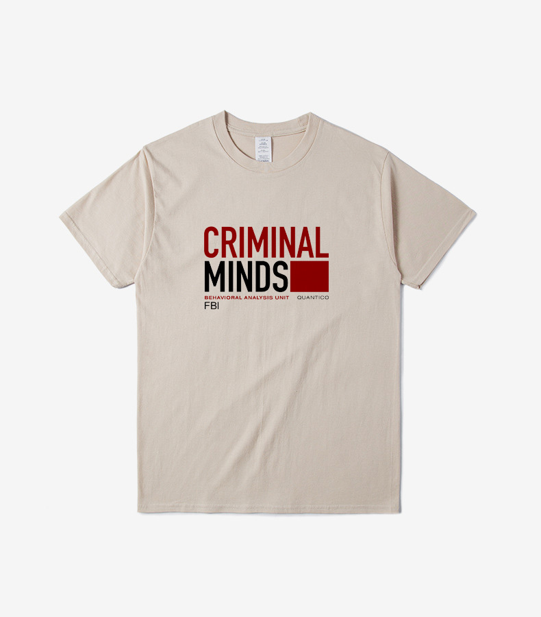 BEHAVIORAL ANALYSIS UNIT QUANTICO FBI T shirt Men Summer Better Call Saul Tees Women Short Sleeve 100% Cotton Top Clothing 3XL