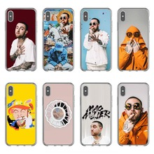 Macs Miller Case silicone Soft Phone Case For iPhone X10 Rapper Case Back Covers For iPhone 5 5s SE 6 6SPlus 7 8 Plus XR XS MAX macs for seniors for dummies®