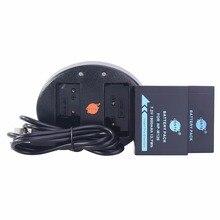 DSTE 2 pcs NP-W126S NP-W126 Li-ion Battery + UDC129A Carregador USB para HS30EXR Fuji HS33 HS35 HS50 X-Pro1 XE1 XM1 XA1 Câmera X-T10