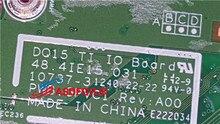 Original für DELL 15R N5110 5110 V3550 AUDIO USB Port LAN board Ethernet DQ15 TI IO BORD GPVC1 48.4IE15.031 100% perfekte arbeit