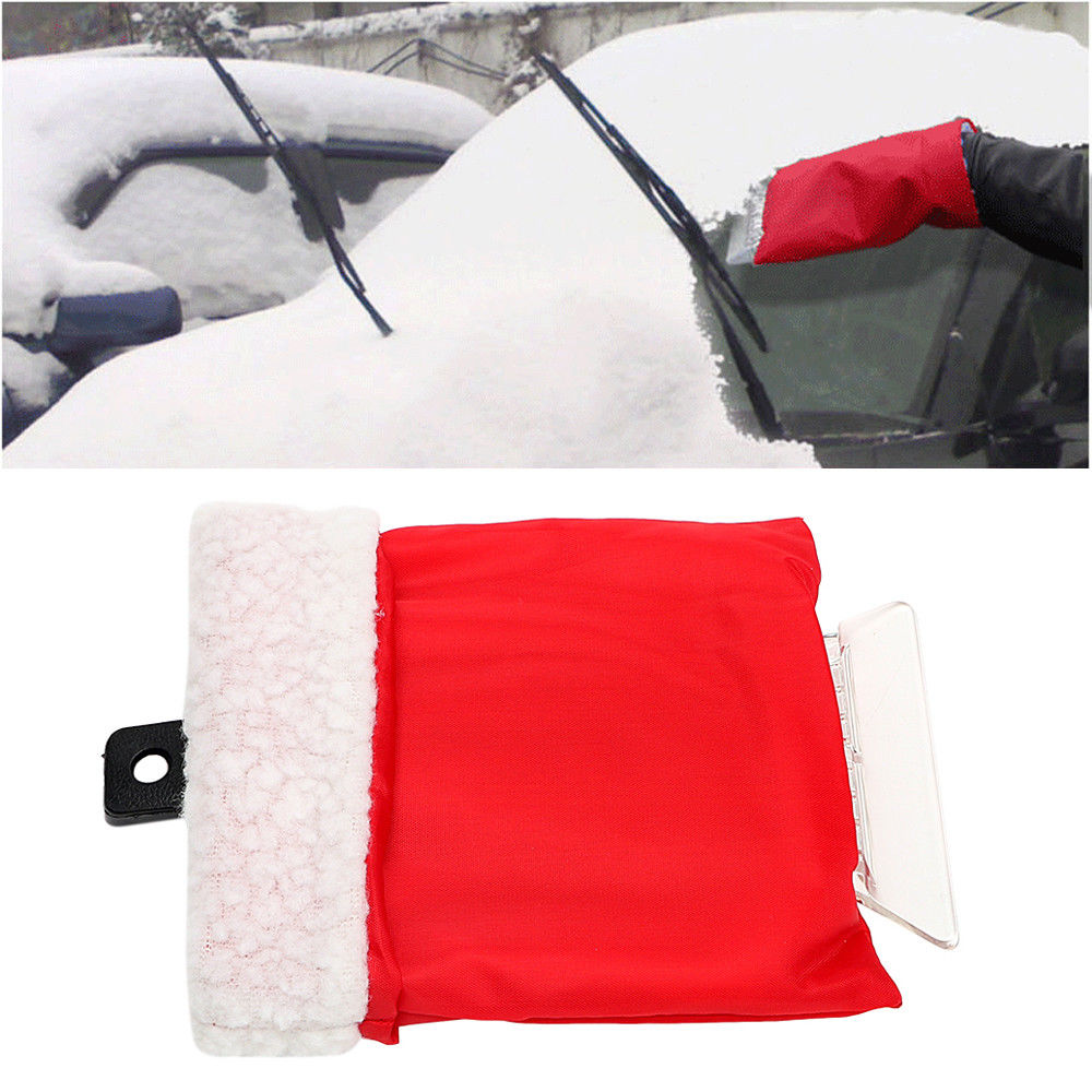 Car Cleaning Ice Scraper Glove Snow Shovel Auto Remove Snow Glove Handheld Snow Removal for Jeep Dodge Seat VW Ford universalcar