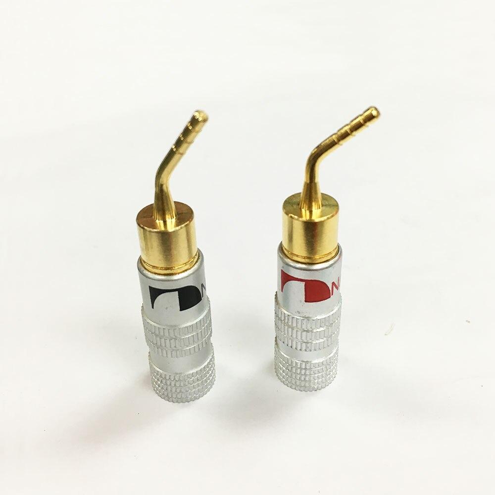 4Pcs High Quality New 24K Gold Nakamichi Speaker Pin Angel 2mm ...