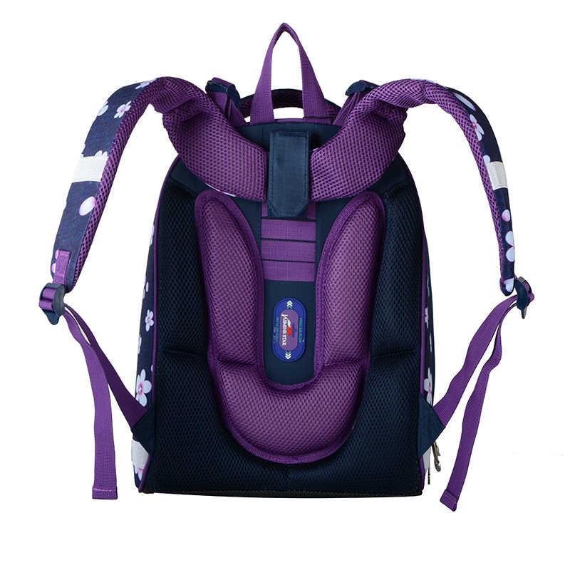 Mochila de alta calidad para niños de grado 1-3-6 nuevas mochilas escolares para niñas cartera ortopédica mochila escolar de dibujos animados para niñas