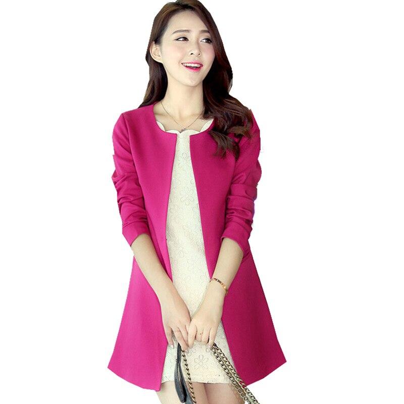 Women white pink small Elegant OL Blazers And Jackets 2017 Spring Autumn Fashion Femenino Female clothing Blazer jacket 55