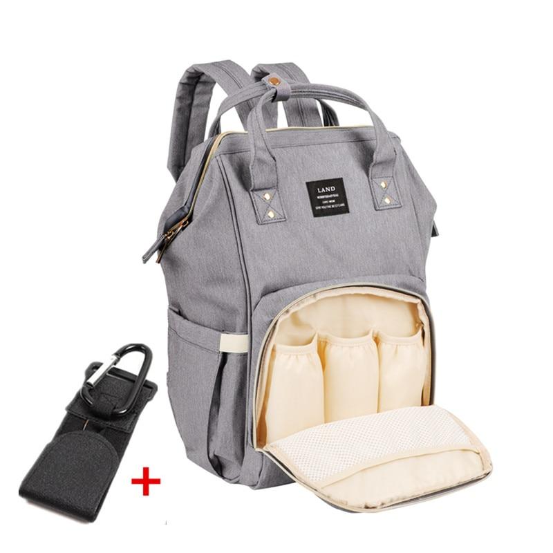land large baby diaper bag travel backpack maternity baby nappy bag for parents bolsa. Black Bedroom Furniture Sets. Home Design Ideas