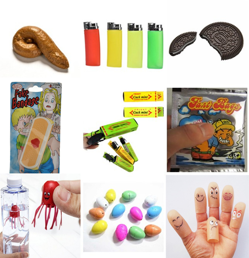 Shits Poop Fake Turd  Biscuit Bitten And Restored Gimmick Cookie Smile Jellyfish Funny Magical Magic Toys  Novelty Gag Toy