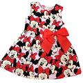 New children's clothing Minnie Mouse children dot dress tutu princess dress kids loose-fitting baby girl dress