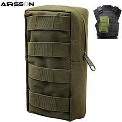 Airsson Airsoft спортивные Военная Униформа 600D Молл сумка Тактический сумки для инструментов жилет гаджет Охота поясная сумка для активного