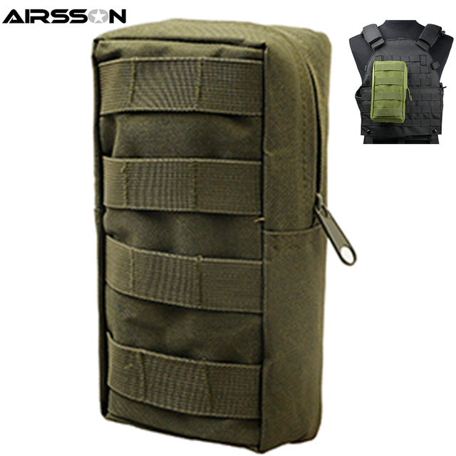 Airsson Sports Military 600D MOLLE Pouch Bag 1