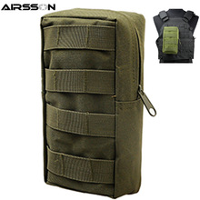 Airsoft Sports Military 600D 21X11.5CM MOLLE Utility Tactical Vest Marsupio Borsa Per Outdoor Caccia Wasit Pack Attrezzature